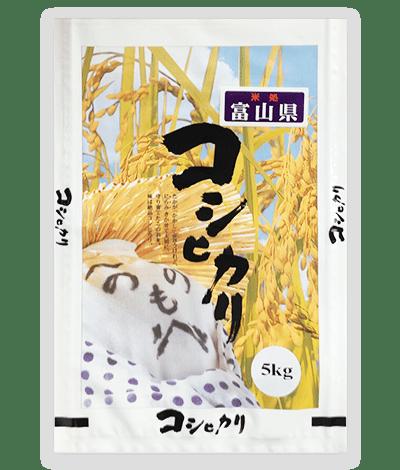 コシヒカリ「かかし」富山県産
